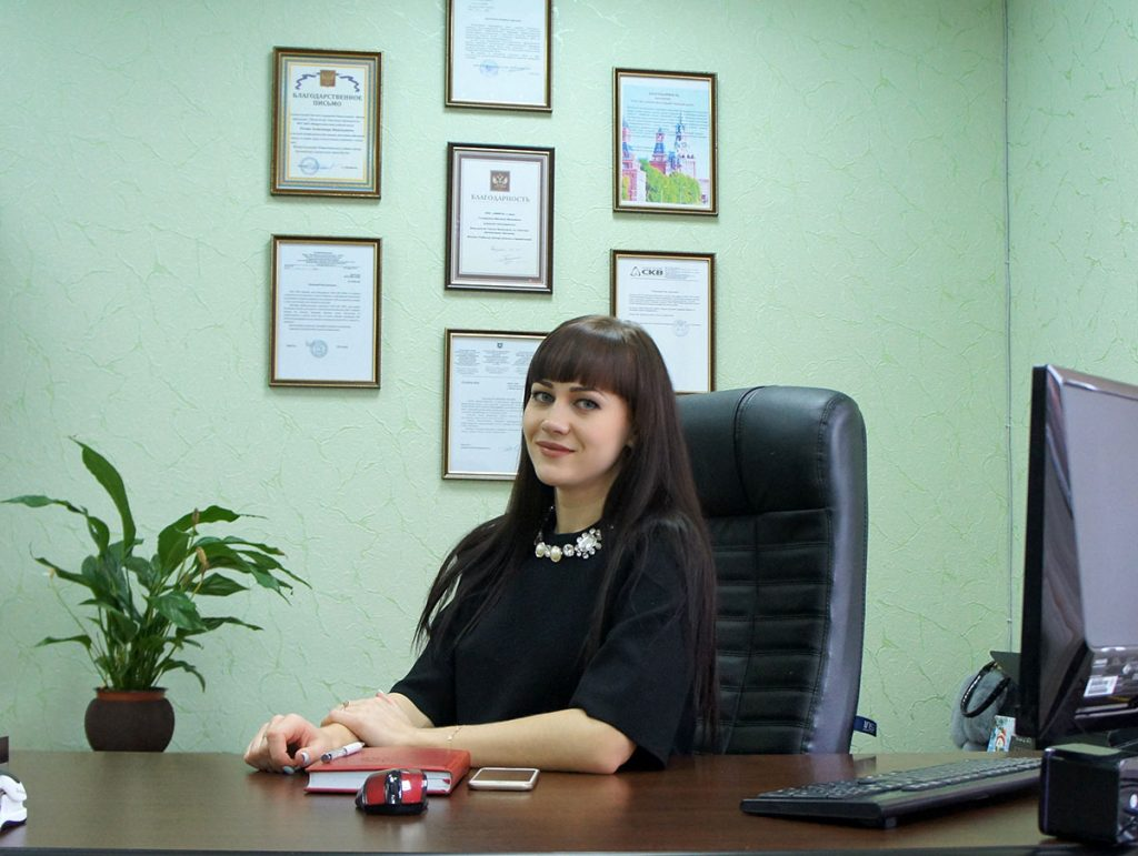 Руководитель ГК «АП-Риал» Вашуркина Галина Евгеньевна