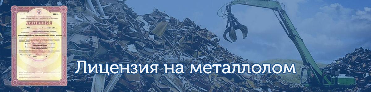 Лицензия на черный и цветной металл помощь от ГК АП-Риал Крым Симферополь Севастополь Евпатория Ялта Керчь