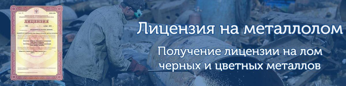 Лицензия на металлолом получение с ГК АП-Риал Крым Симферополь Севастополь Евпатория Ялта Керчь